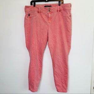 ⭐️3/$25⭐️ Torrid Vintage red skinny jeans